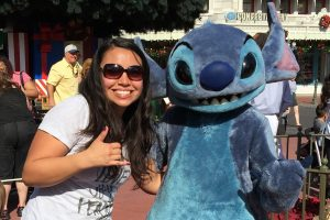 Stitch! My dream come true!